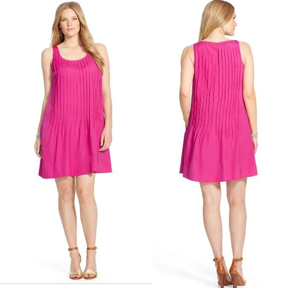 Lauren Ralph Lauren Dresses & Skirts - Lauren by Ralph Lauren pink pleated dress pockets